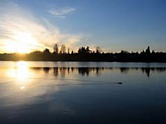 CBgreenLake.jpg Landscapes - Water sunrise sunset dawn dusk lakes ponds water loch