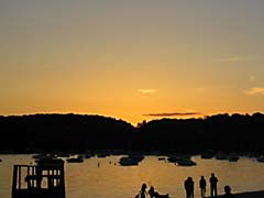 ENUlakeSunset.jpg Landscapes - Water sunrise sunset dawn dusk lakes ponds water loch silhouettes photography