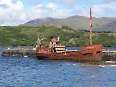 SDSghostShip.jpg boat docks piers photography ireland irish Landscapes - Water rusty