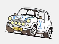 SHminiX.jpg Logos, Mac OS X Cars aqua