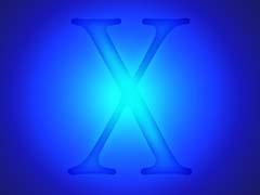 THosxGlow.jpg Logos, Mac OS X blue blueberry